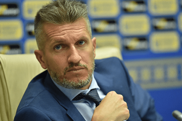 Italian Baranca extends contract with Ukrainian Association of Football