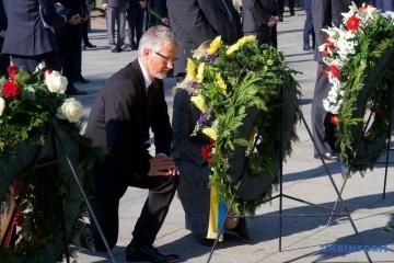 Ukraine erinnert an Opfer des Zweiten Weltkrieges in Berlin