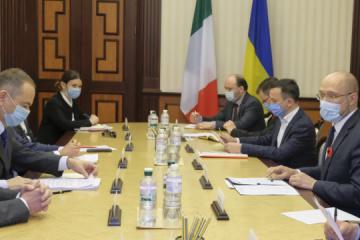 Shmygal agradece a las empresas italianas en Ucrania por preservar empleos