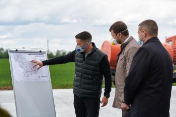 Реконструкція автошляху Н-14 буде завершена до кінця року - Криклій