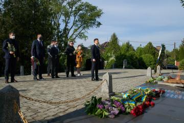 Präsident Selenskyj in Transkarpatien eingetroffen