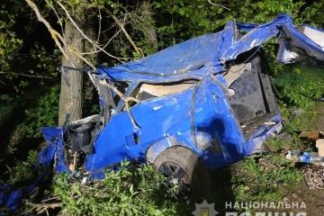 В аварії на Вінниччині загинули троє військових