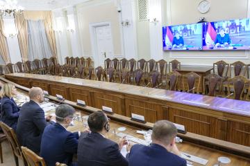 Szmyhal i Merkel rozmawiali o reformie medycznej i decentralizacji na Ukrainie