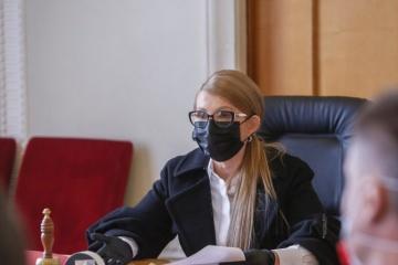 ティモシェンコ祖国党党首、コロナ感染症から回復