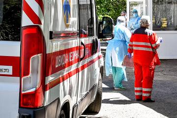 In Ukraine 5.062 neue Coronavirus-Fälle binnen des Tages