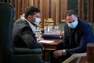 Ukraine needs more economic solutions during exit from coronavirus epidemic - president