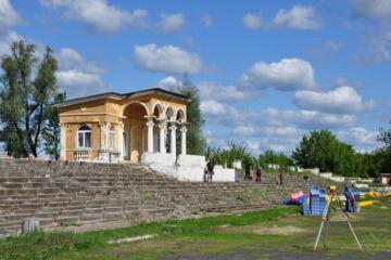 У Слов'янську почали реконструкцію стадіону імені Скиданова - фото