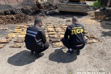 В оселі бойовика на Луганщині знайшли понад 200 кілограмів вибухівки