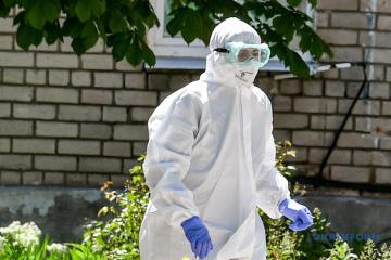Almost 8,000 medical workers in Ukraine already contracted coronavirus