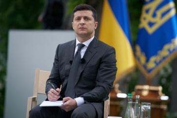 Ukraine ist in erster Corona-Welle - Präsident Selenskyj