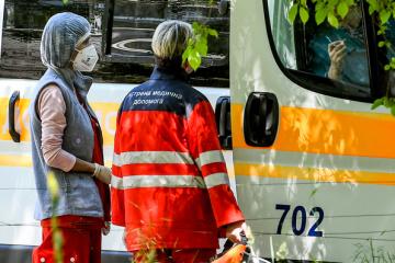 5月21日9時時点 ウクライナ国内新型コロナウイルス感染事例1万9706件 476件増