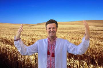 Wyschywanka-Tag: Honoraskonsul der Ukraine in Salzburg zieht besticktes Hemd an