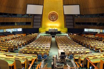 国連総会、クリミア人権決議を採択 日本も賛成