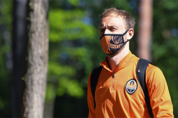 Shakhtar Donetsk preparing for friendly with Rukh