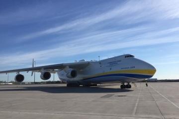 Ukrainische Mrija bringt zum zweiten Mal medizinische Güter nach Kanada