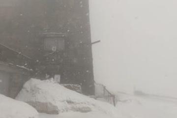 Les Carpates sous la neige