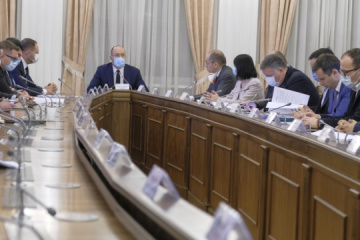 PM Shmyhal orders creation of a three-month reserve of means to tackle COVID-19