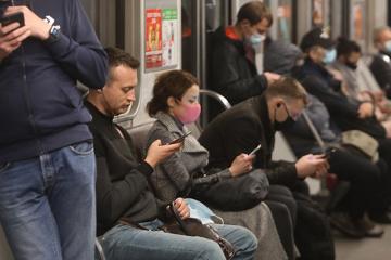 Sigue aumentando el número de pasajeros en el Metro de Kyiv