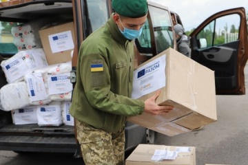 EU provides Ukrainian border guards with protective equipment against COVID-19
