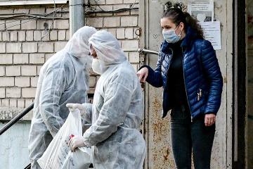 Na Ukrainie anty-rekord, 689 przypadków w przeciągu ostatniej doby