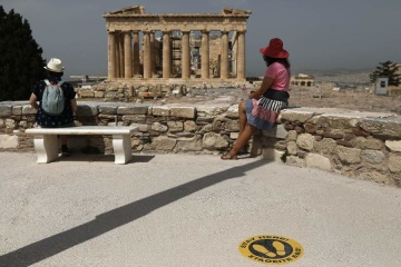Греция открывает границы для иностранных туристов