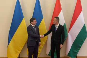 Außenminister der Ukraine und Ungarns treffen sich in Budapest