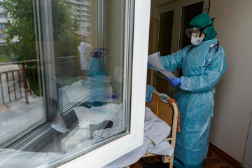 Ukraine reports 483 new coronavirus cases, bringing total to 24,823