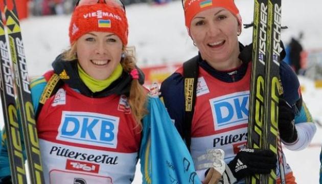 Підгрушна і Джима не увійшли до складу збірної України з біатлону на наступний сезон
