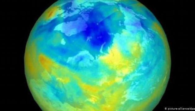 Над Арктикой закрылась огромная озоновая дыра