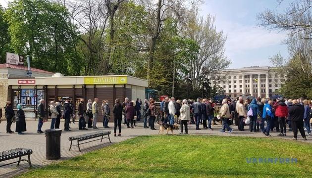 Поліція Одеси охороняє правопорядок на Куликовому полі та Соборній площі