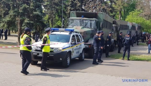 В Одесі біля Куликового поля затримали двох провокаторів