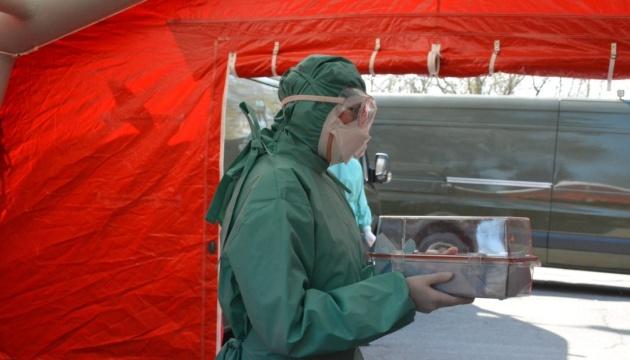 In der ukrainischen Armee 40 COVID-19-Erkrankte