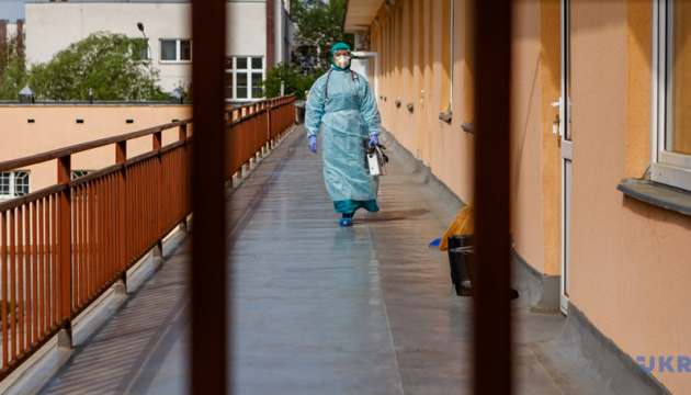 Na Ukrainie zarejestrowano 1090 nowych przypadków COVID-19
