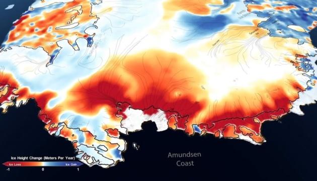 NASA показало, як танули льодовики на Землі упродовж 16 років