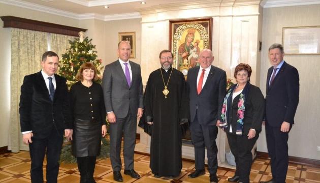 СКУ привітав Главу УГКЦ Святослава з ювілеєм