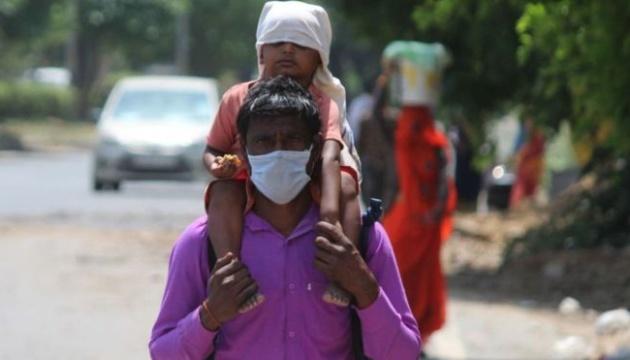 В Індії виявили вже понад пів мільйона випадків коронавірусу