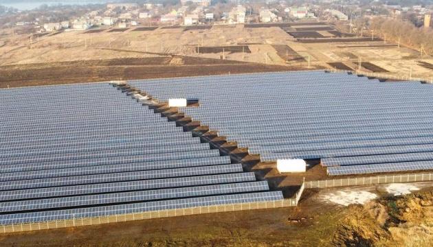 На Кіровоградщині відкрили сонячну електростанцію потужністю 4,7 Мвт