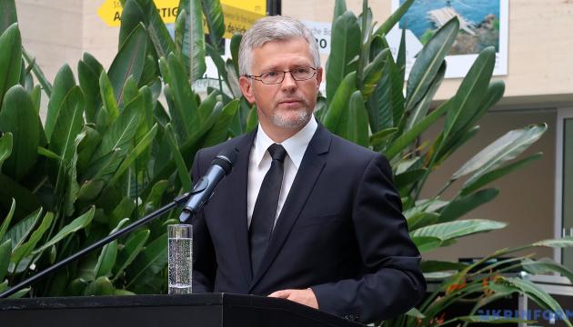 Rozmowy Szmyhala i Merkel świadczą o pełnym poparciu Niemiec dla Ukrainy – ambasador