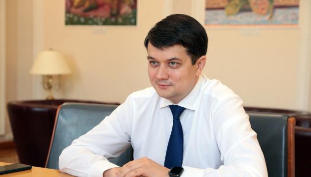 У Раді немає проєктів постанов про звільнення міністрів – Разумков