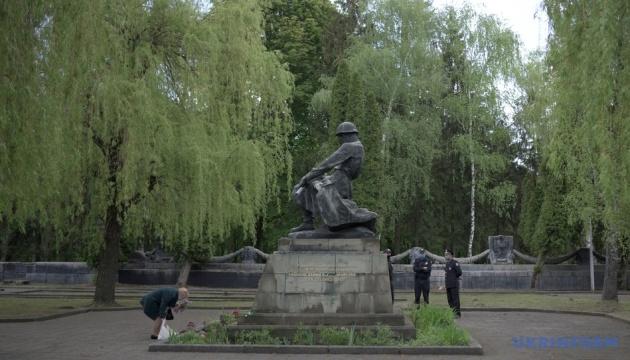 Во Львове 9 мая прошло без массовых акций