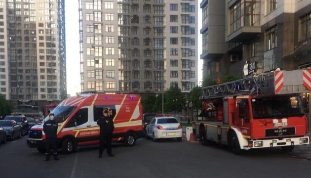 У Києві горіла лазня на 20-му поверсі