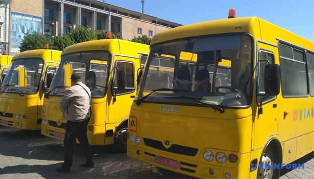 На Буковині закупили 10 нових шкільних автобусів за понад ₴18 мільйонів