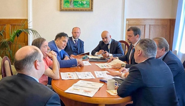 Саакашвілі показали план реформ Укроборонпрому