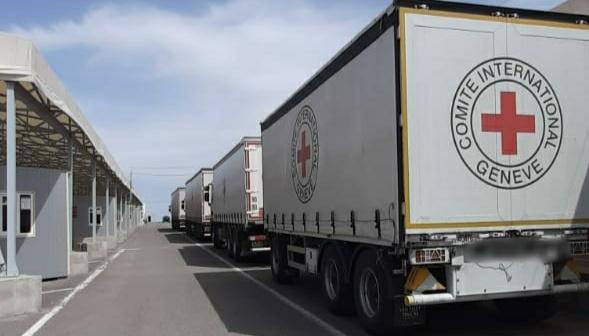 Donbass: Internationale Organisationen lieferten innerhalb einer Woche 157 t humanitäre Fracht