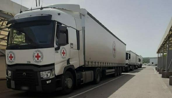 La Croix-Rouge a envoyé 45 tonnes d'aide humanitaire dans le Donbass