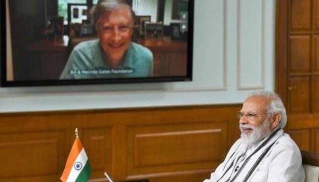 Білл Гейтс і прем'єр Індії обговорили шляхи подолання пандемії