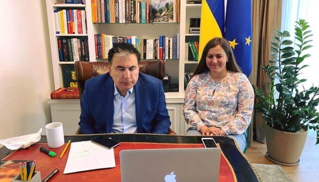Yermak y Saakashvili discutieron con los Embajadores de los países del G7 las perspectivas de la cooperación