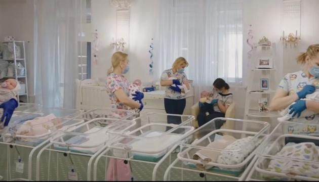 В Киеве за время карантина родились более 20 тысяч младенцев
