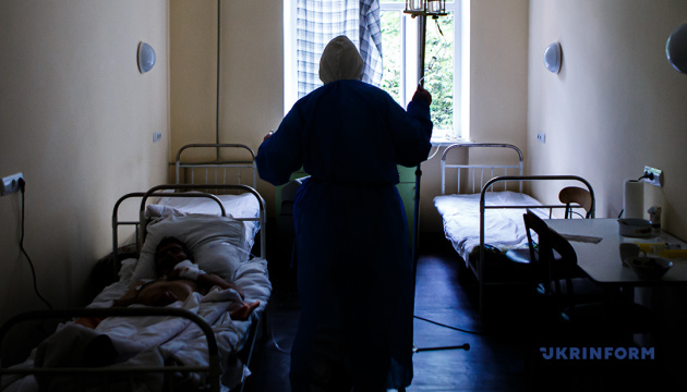 Over 20 thousand patients with COVID-19 staying in Ukrainian hospitals