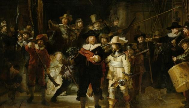"""""""Нічну варту"""" Рембрандта тепер можна розгледіти в деталях онлайн"""